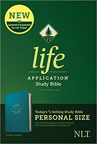 NLT Life Application Study Bible, Third Edition, Teal