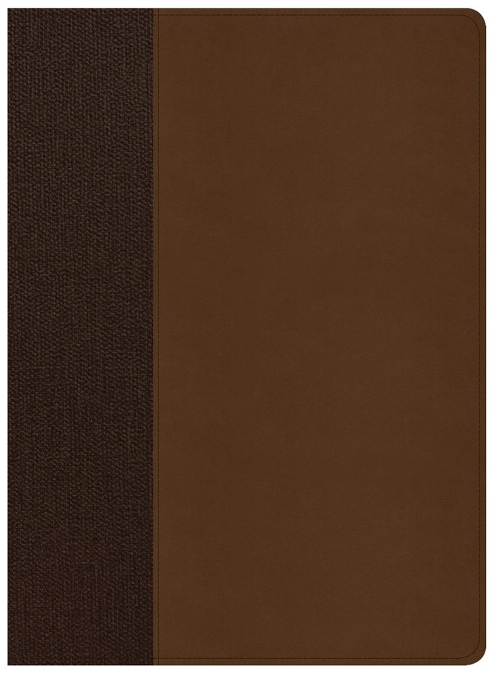 CSB Life Essentials Study Bible, Brown LeatherTouch, Indexed