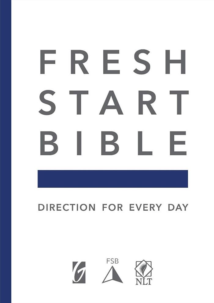 NLT Fresh Start Bible, Genuine Leather