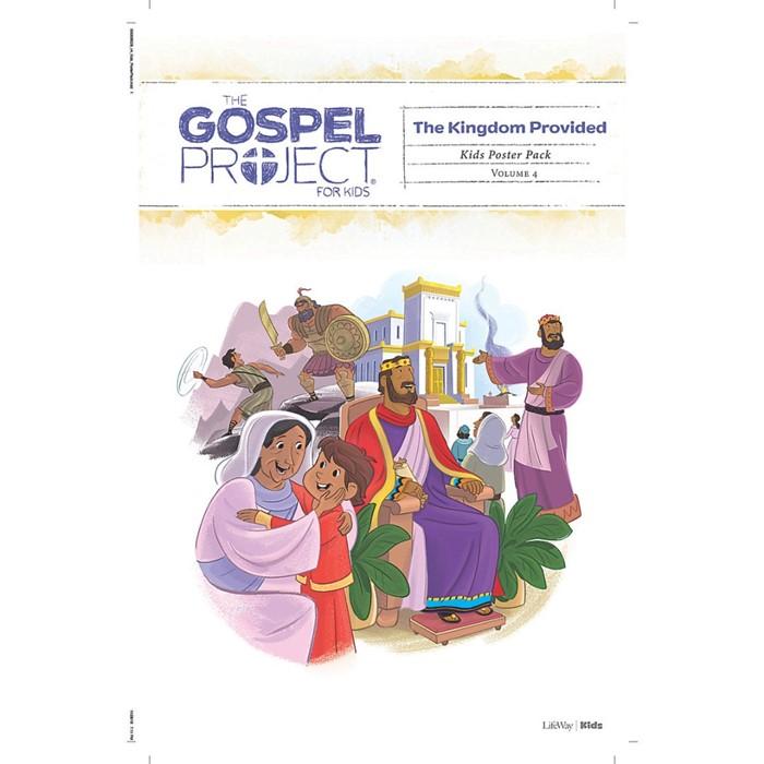 Gospel Project: Kids Poster Pack, Summer 2019
