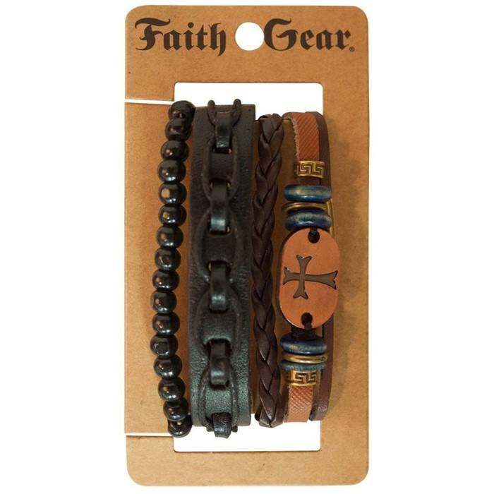 Copper Cross Bracelet