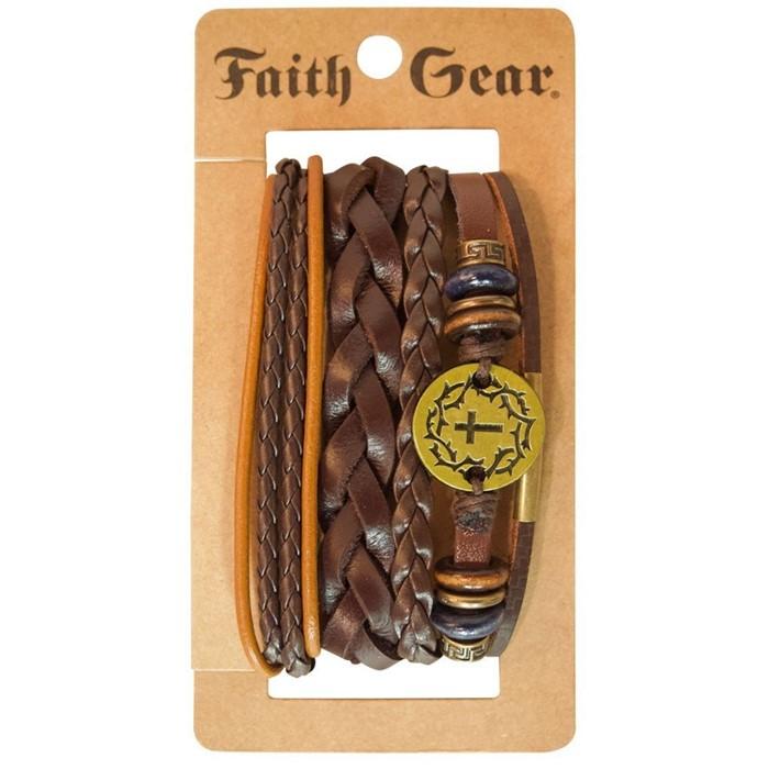 Golden Crown Bracelet