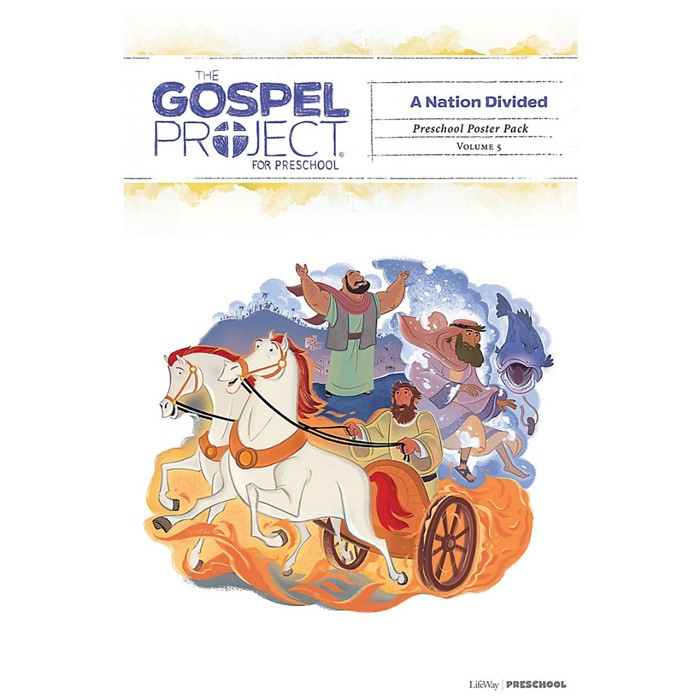 Gospel Project: Preschool Poster Pack, Fall 2019