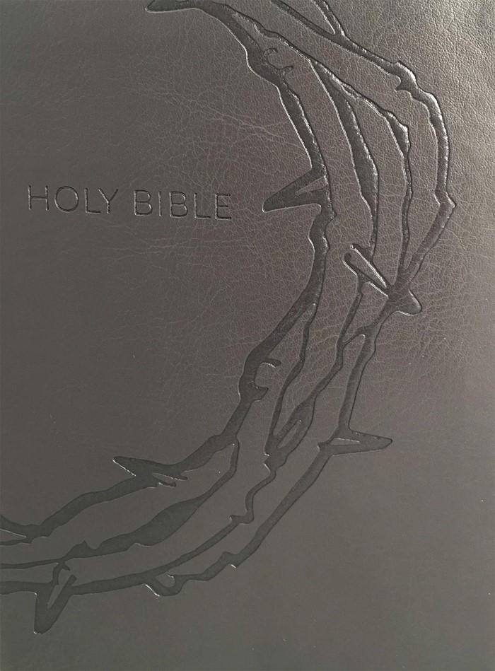 KJV Sword Study Bible, Large Print, Personal Size, Charcoal