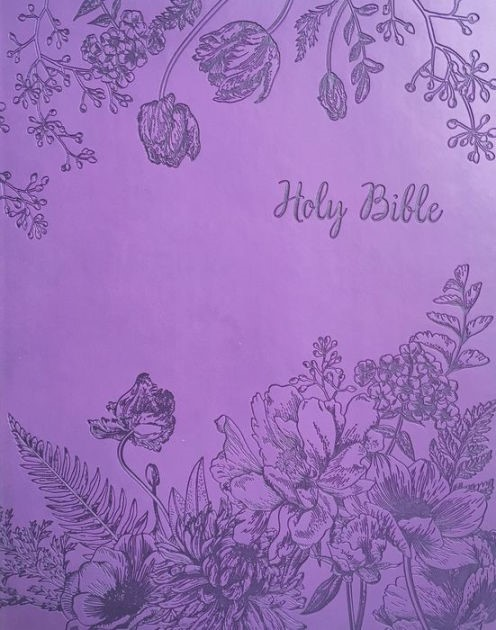 KJVER Sword Study Bible, Purple, Giant Print, Indexed
