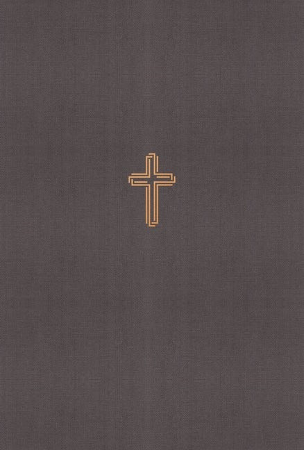 NASB Thinline Bible, Gray, Red Letter Ed., Comfort Print