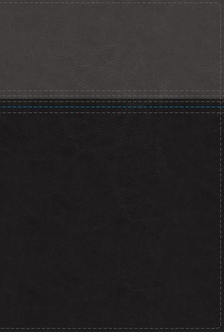 NASB Thinline Bible, Black/Grey, Red Letter, Comfort Print