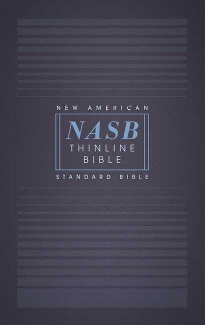 NASB Thinline Bible, Red Letter Edition, Comfort Print