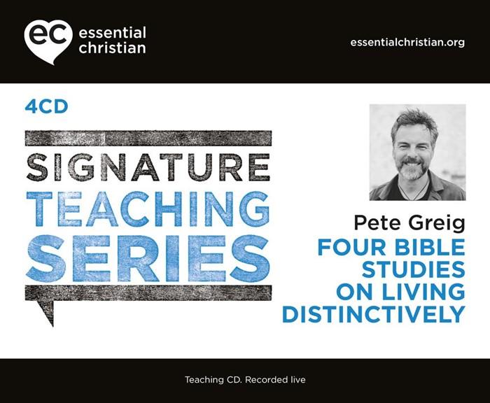 Signature Teaching Series: Living Distinctively CD