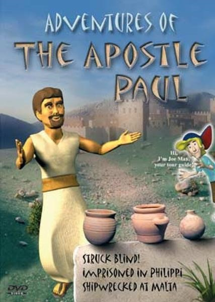 Adventures of The Apostle Paul DVD