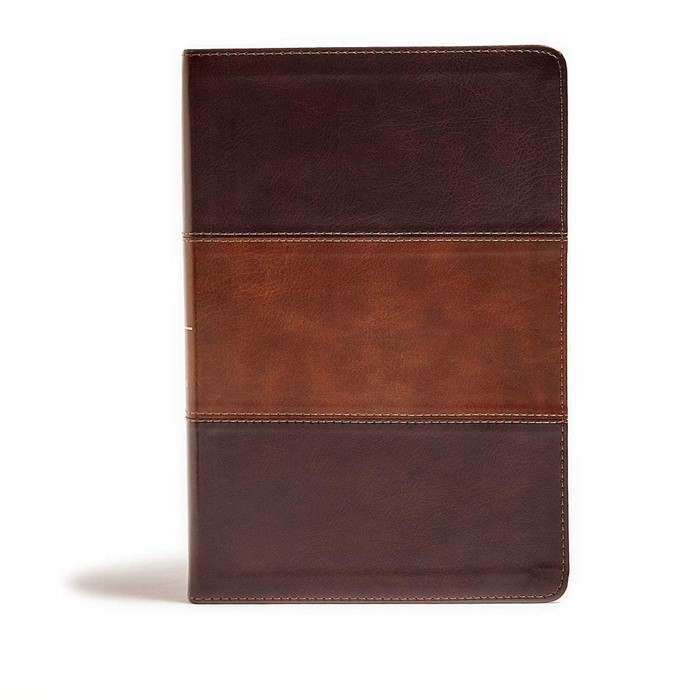 KJV Giant Print Reference Bible, Mahogany