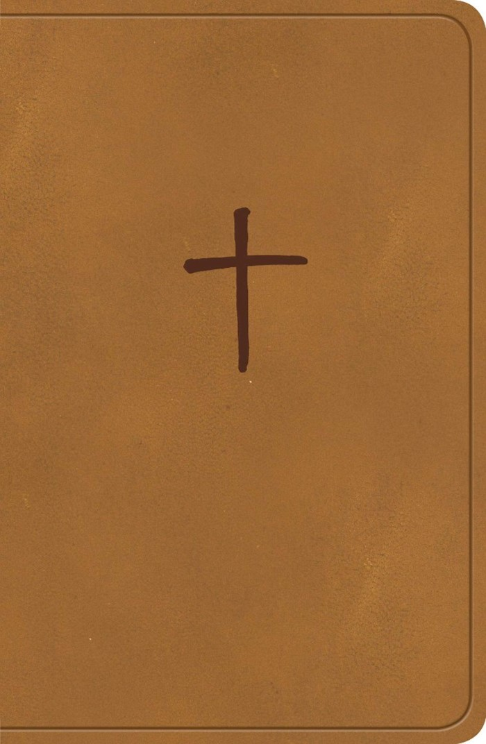 CSB On-the-Go Bible, Ginger LeatherTouch