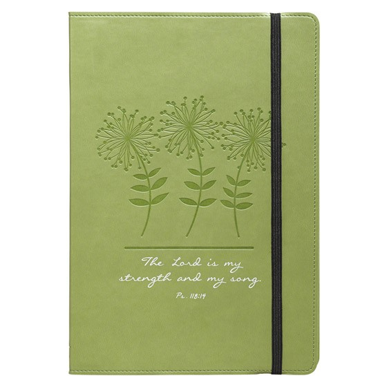 Flexcover Journal: Green/Ps 118:14