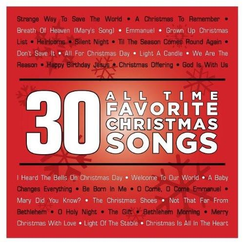 30 All Time Favorite Christmas Songs CD