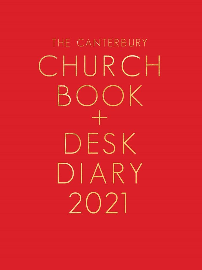 Canterbury Church Book & Desk Diary 2021, A5 PO Edition