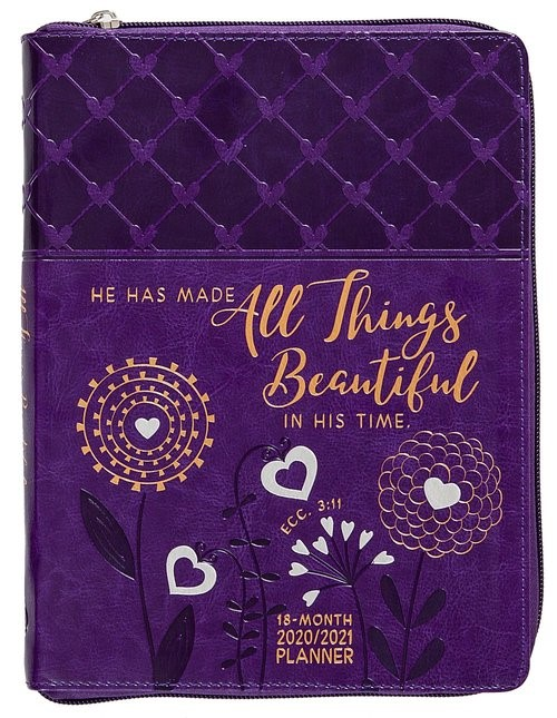 2021 18 Month Planner: All Things Beautiful