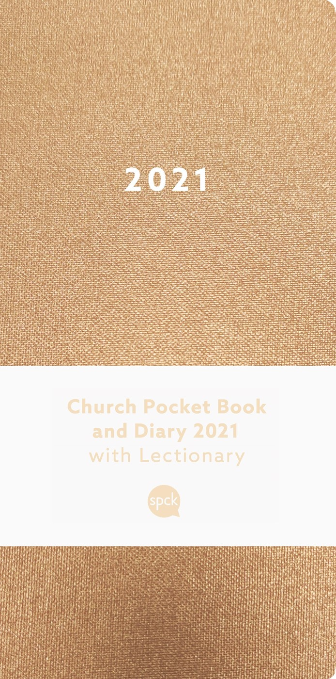Church Pocket Book and Diary 2021, Bronze