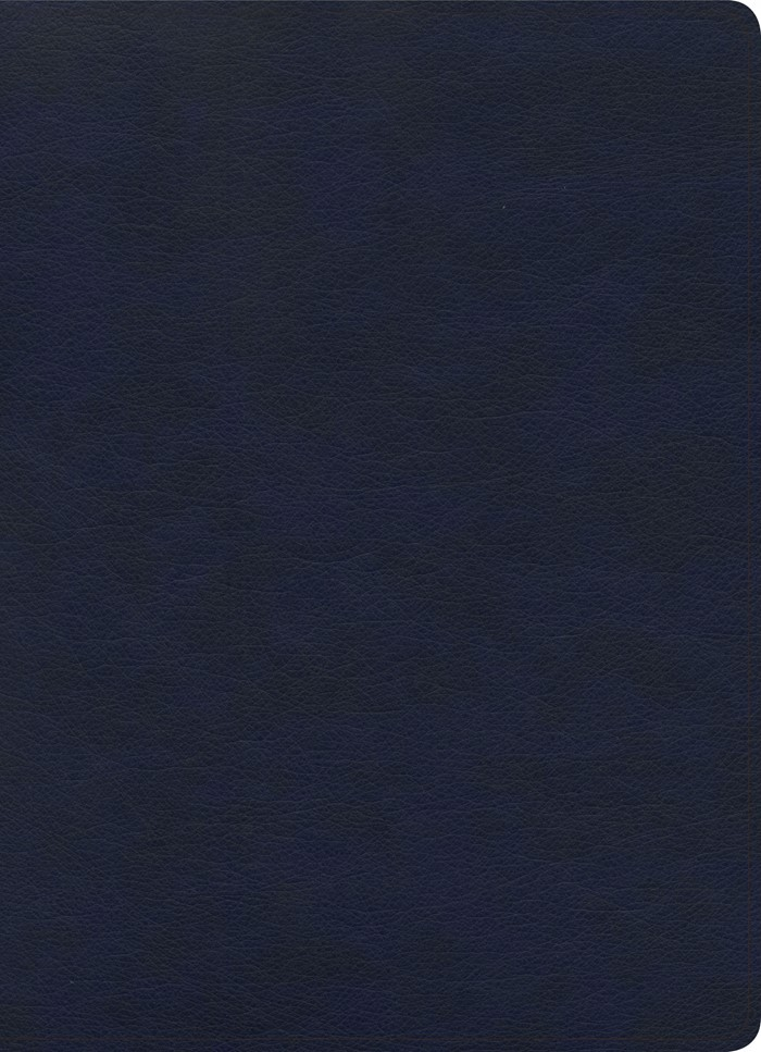 KJV Study Bible, Full-Color, Navy LeatherTouch, Indexed