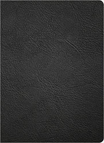 KJV Study Bible, Full-Color, Black Premium Leather