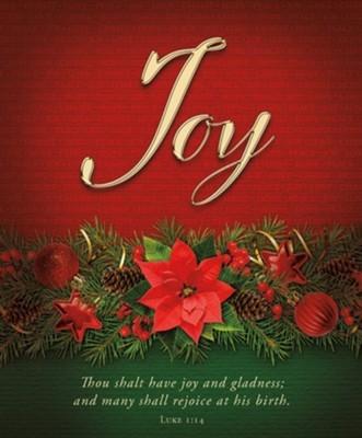 Joy Advent Large Bulletin (pack of 100)
