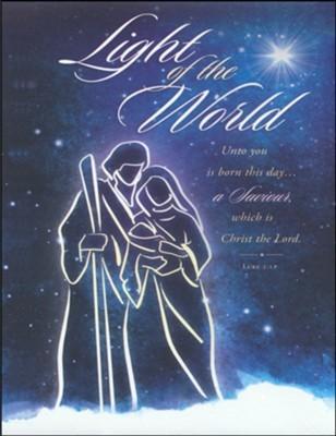 Light of the World Large Bulletin (pack of 100)