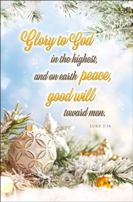 Glory to God in the Highest Bulletin (pack of 100)