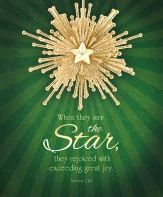 When They Saw the Star Large Bulletin (pack of 100)