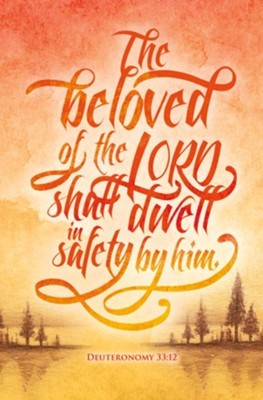 Beloved of the Lord Bulletin (pack of 100)
