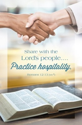 Share with the Lord's People Bulletin (pack of 100)