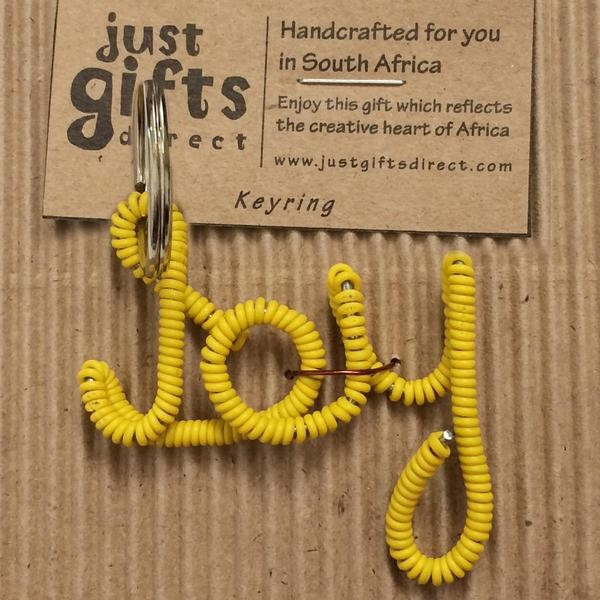 Wire Joy Keyring