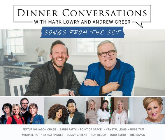 Dinner Conversations with Mark Lowry and Andrew Greer CD