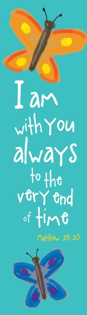 I Am With You Always Bookmark (Pack of 10)