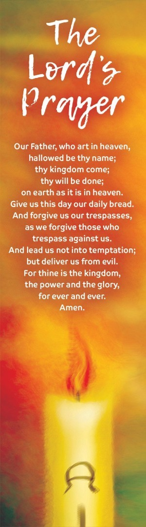 The Lord's Prayer Bookmark (Pack of 10)