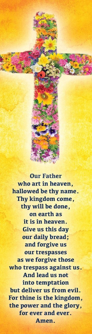 The Lord's Prayer Cross (Pack of 10)