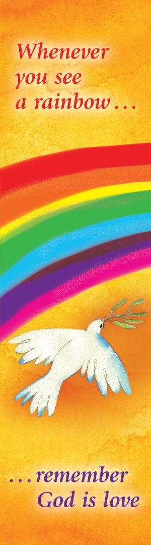 Whenever You See a Rainbow Bookmark (Pack of 10)