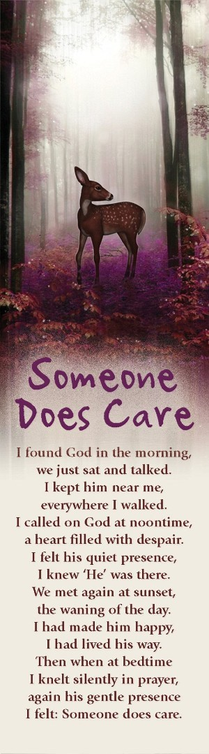 Someone Does Care Bookmark (Pack of 10)