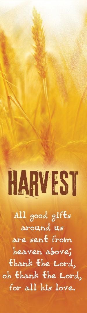 Harvest Bookmark (Pack of 10)