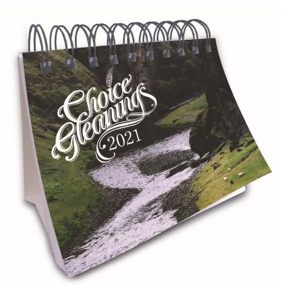 Choice Gleanings Desk Calendar 2021