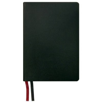 NASB 2020 Giant Print Text Bible, Black Genuine Leather