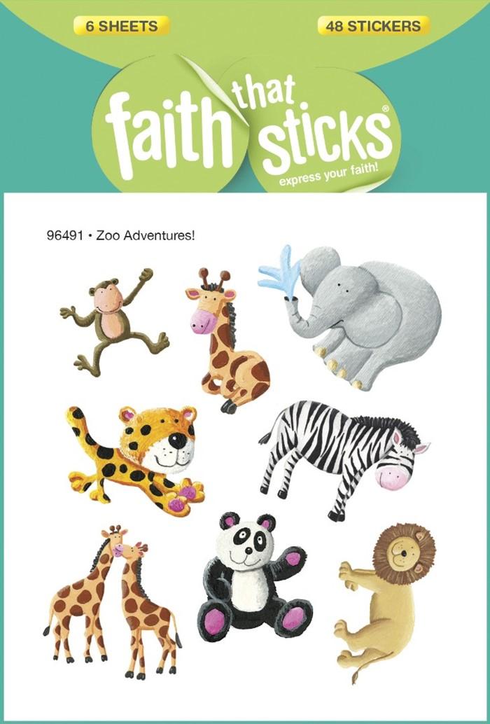 Zoo Adventures! - Faith That Sticks Stickers