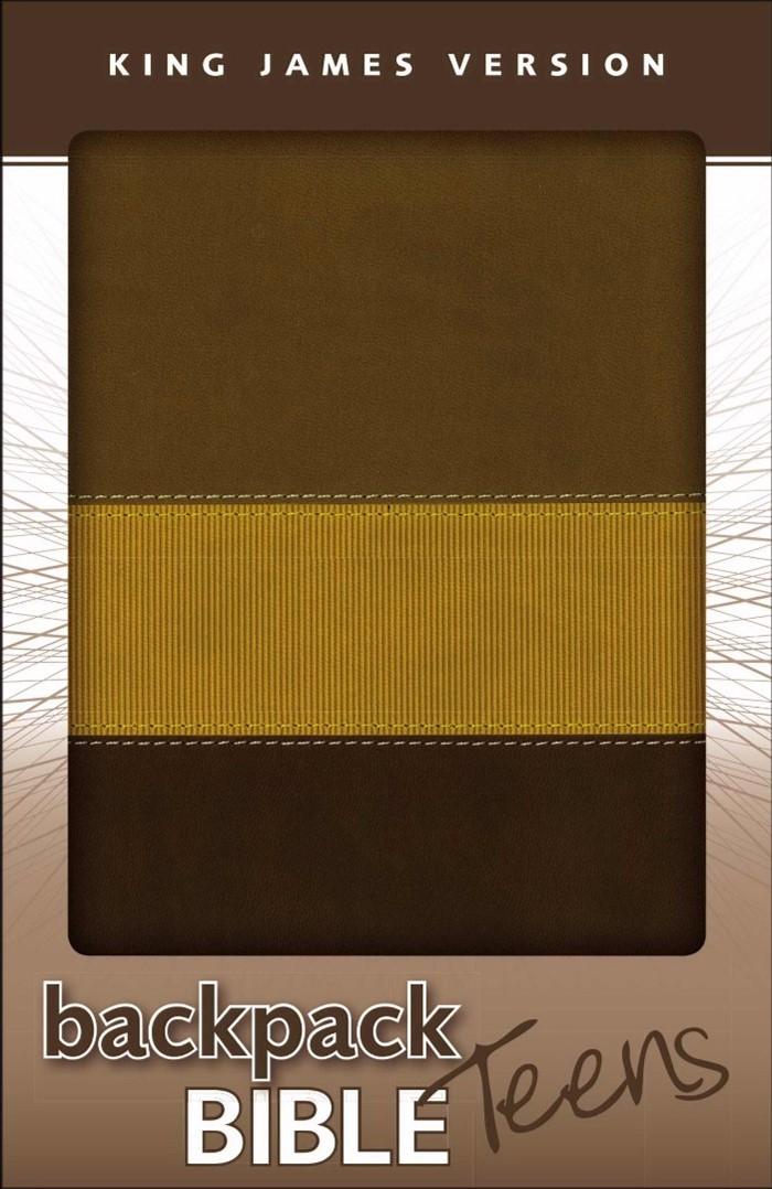 KJV Backpack Bible