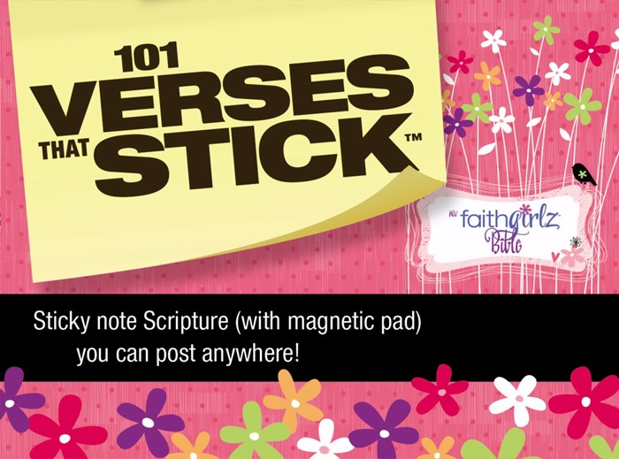 101 Verses That Stick For Girls Based On The Niv Faithgirlz!