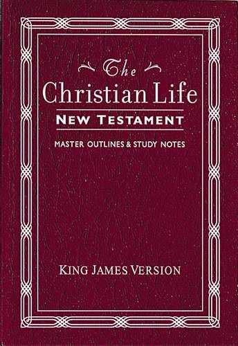KJV The Christian Life New Testament