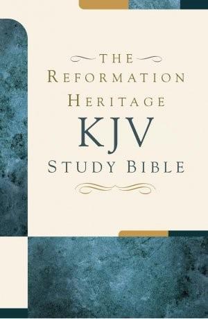 The KJV Reformation Heritage Study Bible - Hardcover