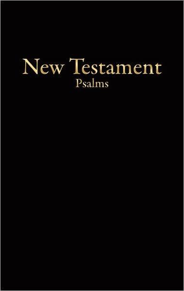KJV Economy New Testament With Psalms, Black