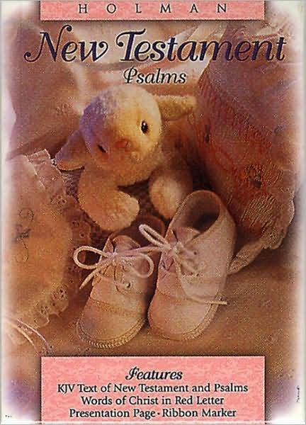 KJV Baby's New Testament, Pink Imitation Leather