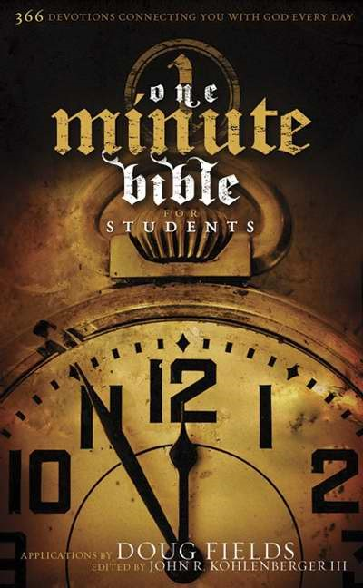 The Hcsb One Minute Bible For Students, Trade Paper
