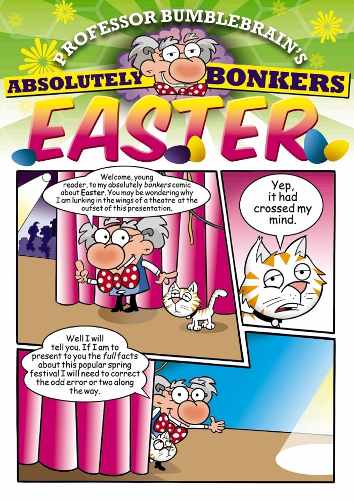Professor Bumblebrain's Absolutely Bonkers Easter