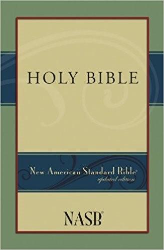 NASB Holy Bible