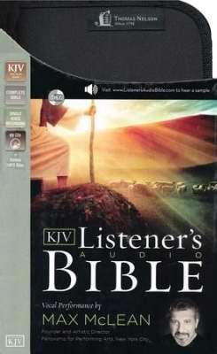 The KJV Listener's Audio CD Bible
